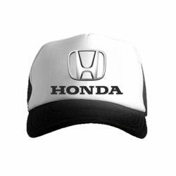 Детская кепка-тракер Honda 3D Logo