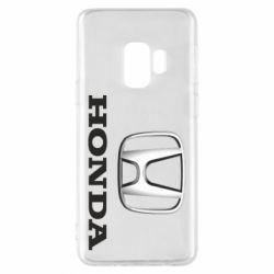 Чехол для Samsung S9 Honda 3D Logo