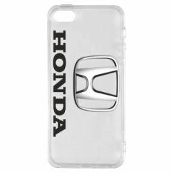 Чехол для iPhone5/5S/SE Honda 3D Logo