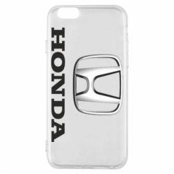 Чехол для iPhone 6/6S Honda 3D Logo