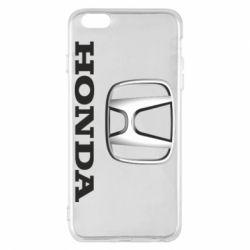 Чехол для iPhone 6 Plus/6S Plus Honda 3D Logo
