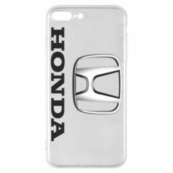 Чехол для iPhone 7 Plus Honda 3D Logo