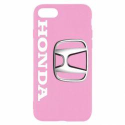 Чехол для iPhone 8 Honda 3D Logo