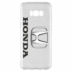 Чехол для Samsung S8+ Honda 3D Logo