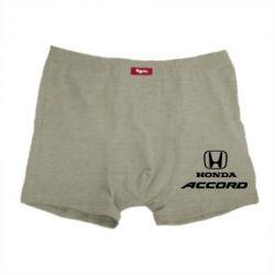 Мужские трусы Honda Accord - FatLine