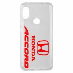 Чохол для Xiaomi Redmi Note Pro 6 Honda Accord