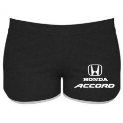 Женские шорты Honda Accord - FatLine