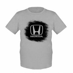Купить Детская футболка Хонда арт, Honda art, FatLine