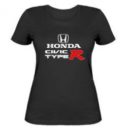 Жіноча футболка Honda Civic Type R