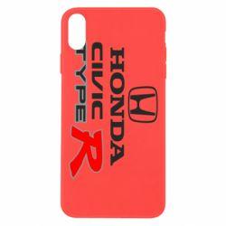 Чохол для iPhone Xs Max Honda Civic Type R