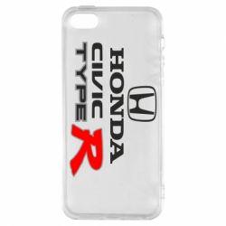 Чохол для iphone 5/5S/SE Honda Civic Type R