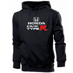 Мужская толстовка Honda Civic Type R - FatLine