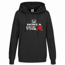 Женская толстовка Honda Civic Type R - FatLine