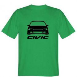 Мужская футболка Honda Civic - FatLine