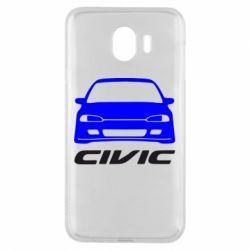 Чохол для Samsung J4 Honda Civic
