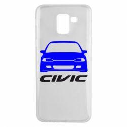 Чохол для Samsung J6 Honda Civic