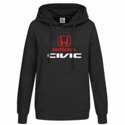 Женская толстовка Honda Civic - FatLine