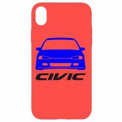 Чохол для iPhone XR Honda Civic
