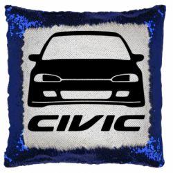 Подушка-хамелеон Honda Civic