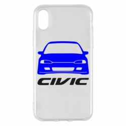 Чохол для iPhone X/Xs Honda Civic