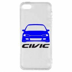 Чохол для iphone 5/5S/SE Honda Civic
