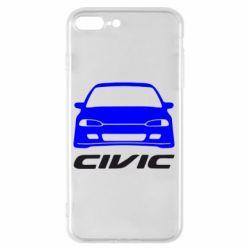 Чохол для iPhone 8 Plus Honda Civic