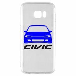 Чохол для Samsung S7 EDGE Honda Civic