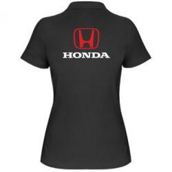 Женская футболка поло Honda Classic - FatLine