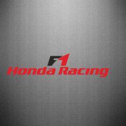 Наклейка Honda F1 Racing - FatLine