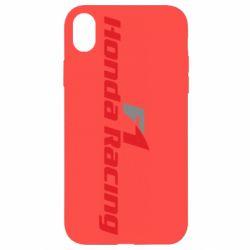 Чехол для iPhone XR Honda F1 Racing