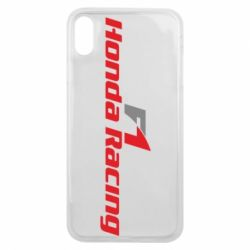 Чехол для iPhone Xs Max Honda F1 Racing