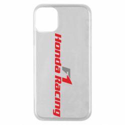 Чехол для iPhone 11 Pro Honda F1 Racing
