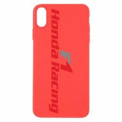 Чехол для iPhone X/Xs Honda F1 Racing