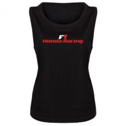 Женская майка Honda F1 Racing