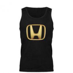 Мужская майка Honda Gold Logo - FatLine