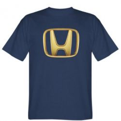 Мужская футболка Honda Gold Logo - FatLine