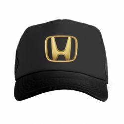 Кепка-тракер Honda Gold Logo - FatLine
