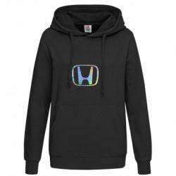 Женская толстовка Honda logo Голограмма