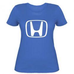 Женская футболка Honda Logo - FatLine