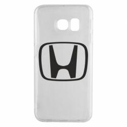 Чехол для Samsung S6 EDGE Honda Logo