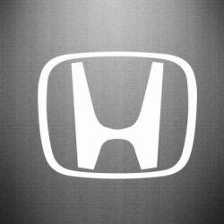 Наклейка Honda Logo - FatLine