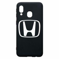 Чехол для Samsung A40 Honda Logo