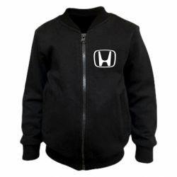 Детский бомбер Honda Logo