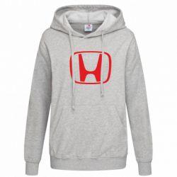 Женская толстовка Honda Logo - FatLine