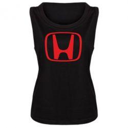 Женская майка Honda Logo - FatLine