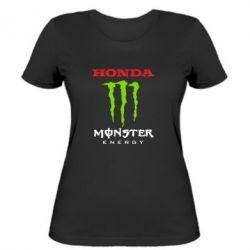 Женская футболка Honda Monster Energy - FatLine