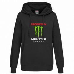 Женская толстовка Honda Monster Energy