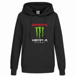 Женская толстовка Honda Monster Energy - FatLine