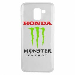 Чехол для Samsung J6 Honda Monster Energy
