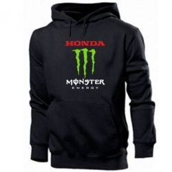 Толстовка Honda Monster Energy